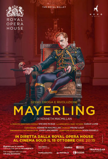 Locandina The RoyalBallet MAYERLING