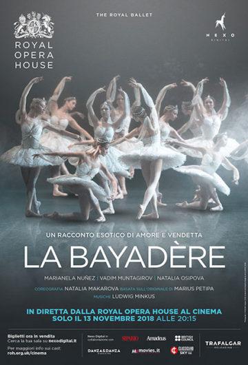Locandina The Royal Ballet – LA BAYADÈRE