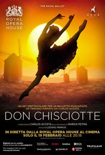 Locandina ROYAL OPERA HOUSE: DON CHISCIOTTE