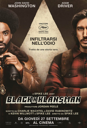Locandina BLACKKKLANSMAN