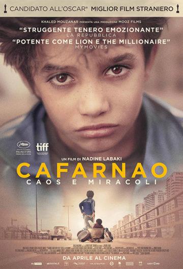 Locandina CAFARNAO – CAOS E MIRACOLI