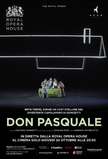 Locandina The RoyalOpera DonPasquale diGaetano Donizetti