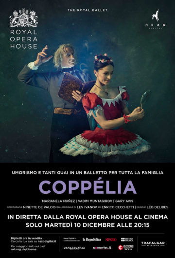 Locandina The Royal Ballet Coppélia