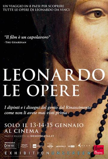 Locandina Leonardo. Le Opere