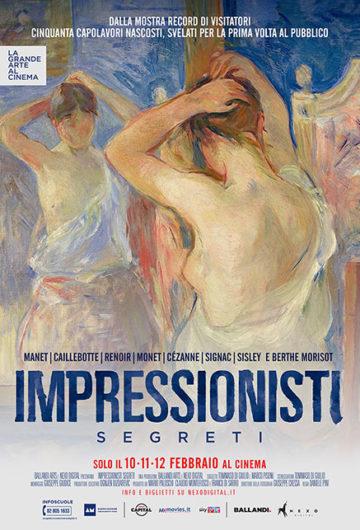Locandina Impressionisti segreti