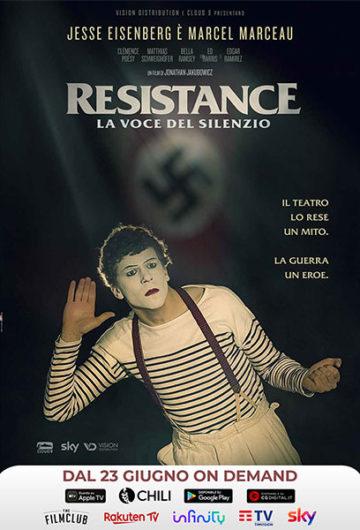 Locandina RESISTANCE – LA VOCE DEL SILENZIO