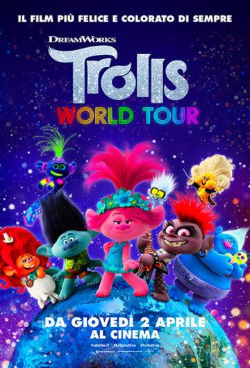 Locandina TROLLS WORLD TOUR