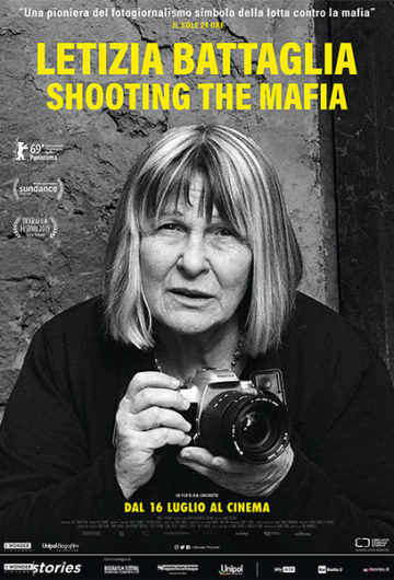 Locandina LETIZIA BATTAGLIA – SHOOTING THE MAFIA