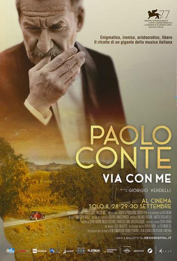 Locandina Paolo Conte. Via con me