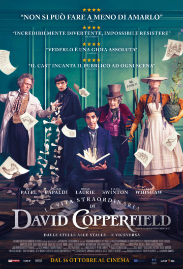 Locandina LA VITA STRAORDINARIA DI DAVID COPPERFIELD