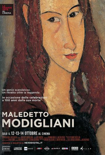 Locandina Maledetto Modigliani
